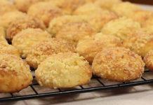 Печиво з солодкою ванільною крихтою