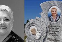 Марина Поплавська та її надгробок
