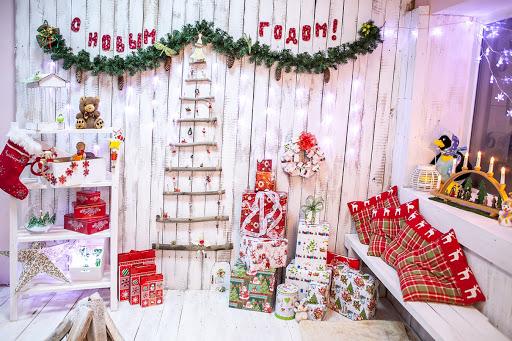 Новорічний декор на стіни - дешево і красиво