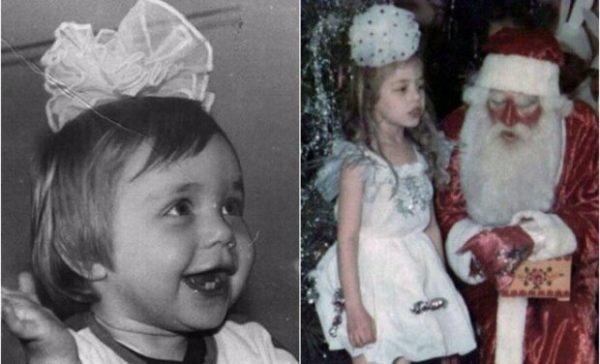Дитячі фотографії Тіни Кароль