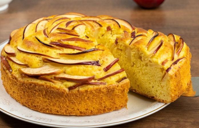 Рецепт яблучного пирога