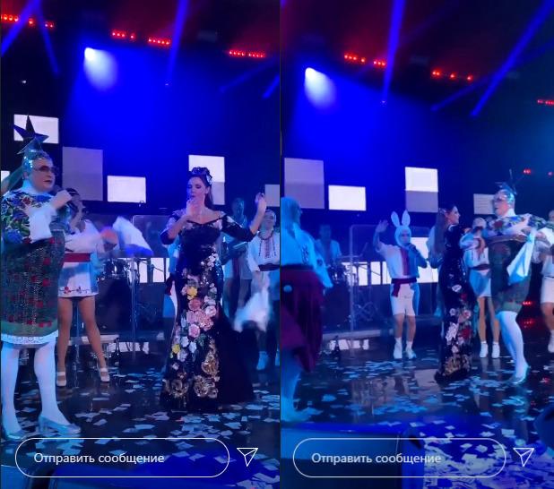 Танцы с Веркой Сердючкой