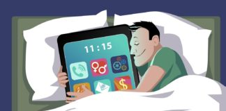 Почему нельзя пользоваться сматфоном перед сном