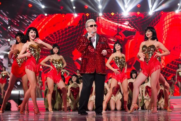Михайло Поплавський на сцені