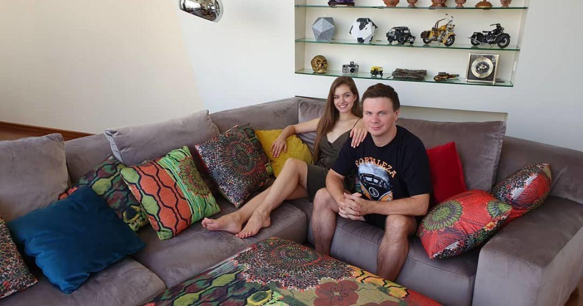 Дмитрий и Александра дома