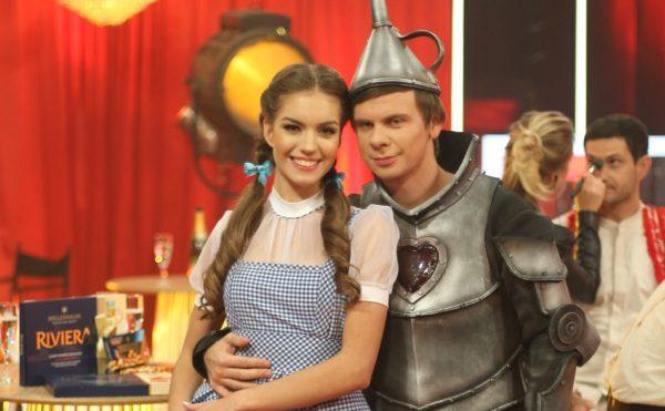 Кучеренко та Комаров на танцях