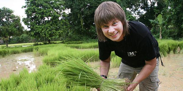 Дмитрий Комаров в Камбодже