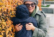 Тетяна Брухунова з сином
