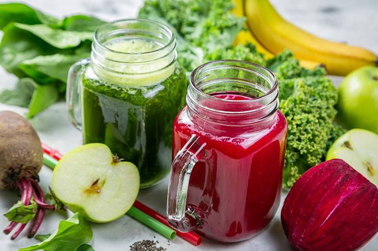 Овочі, фрукти і свіжі соки