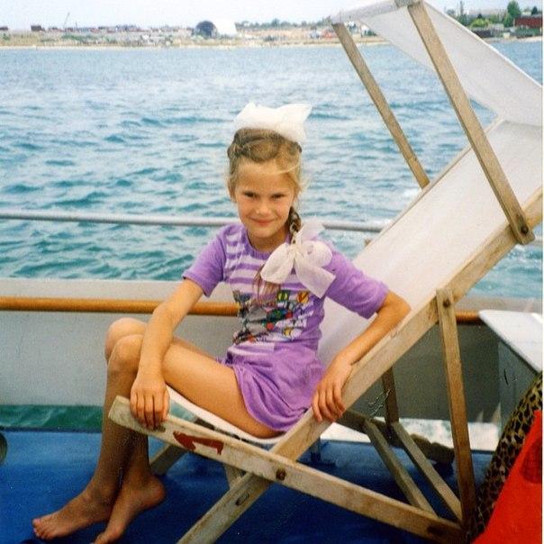 Дитяче фото Алли Костромічева