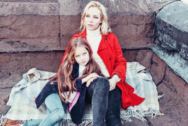 Даша Трегубова з донькою