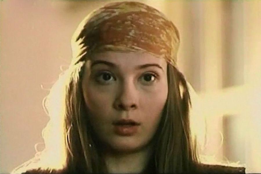Юлия Высоцкая в юности