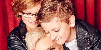 Диана Арбенина и ее дети - им уже по 10 лет