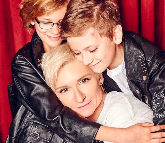 Діана Арбеніна і її діти - їм уже по 10 років