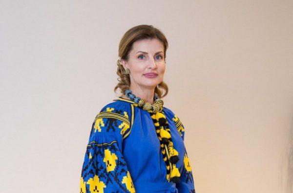 Марина Порошенко в українській вишиванці