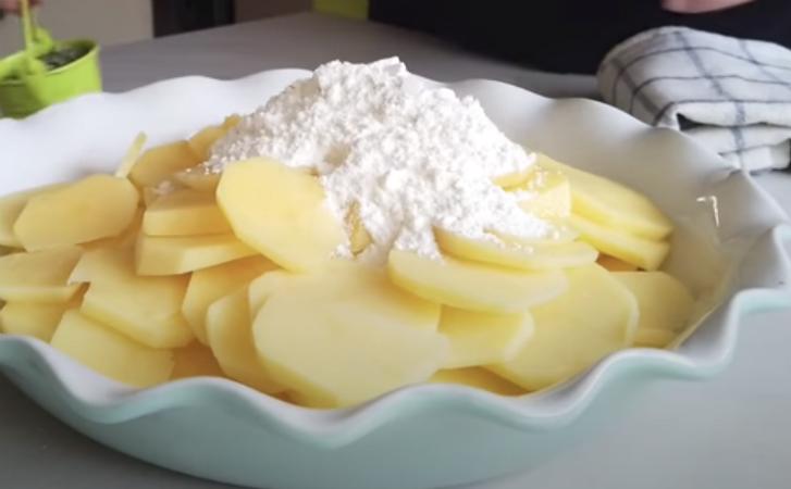 Картопля для фріттати