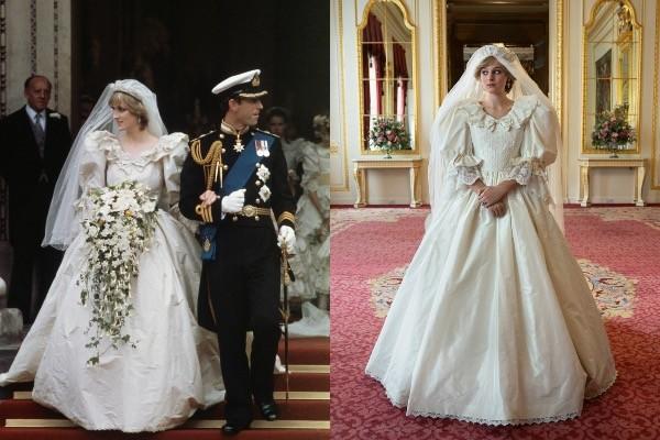 Весільне вбрання Леді Ді