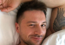 Сергій Лазарєв показав фото з підрослим сином