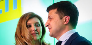 Володимир Зеленський і його дружина Олена