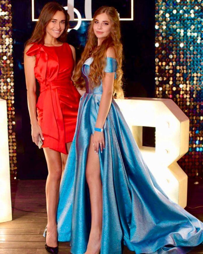 Юлия Джежула с дочерью Ангелиной