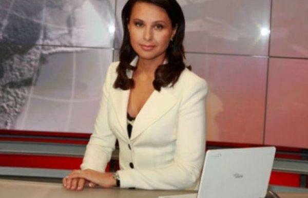 Наталья Мосейчук в начале карьеры на ТВ