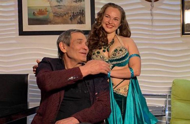 Бари Алибасов и его любовница Вика