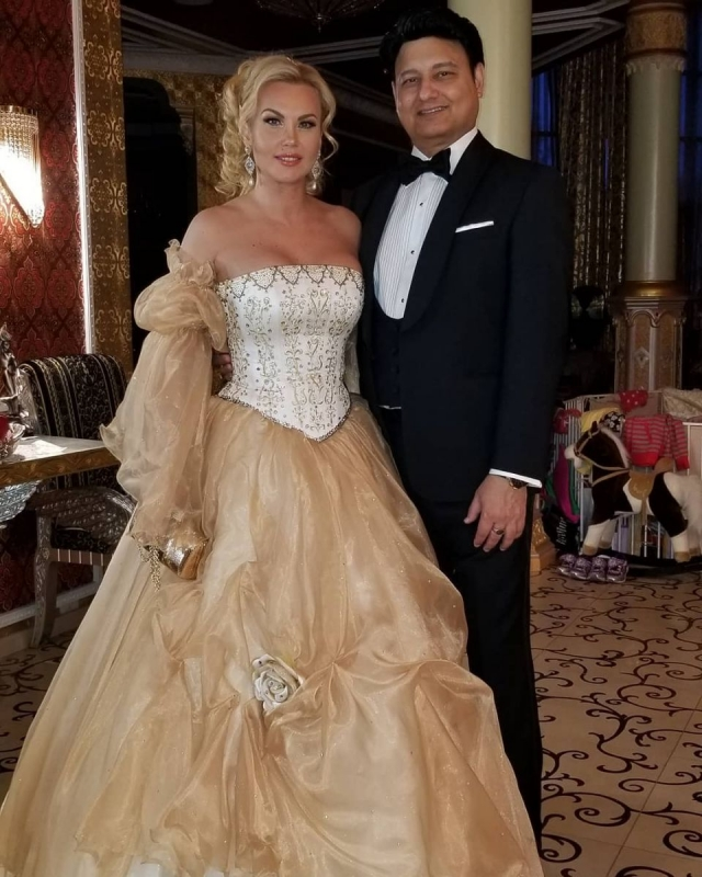 Весільне вбрання Камалії