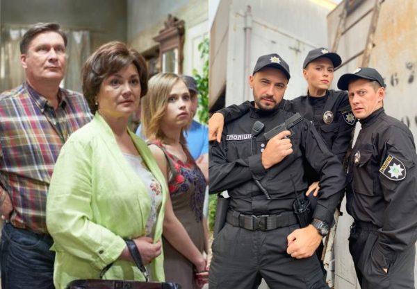 Анна в «Слуге народа» (слева) и в «Юрчишиных» (справа)