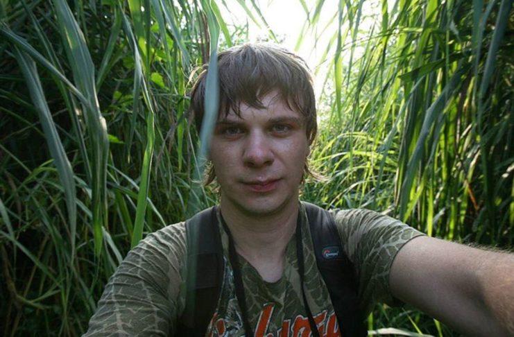 Дмитрий Комаров в путешествии
