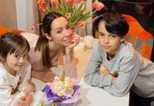 Катерина Кухар з дітьми