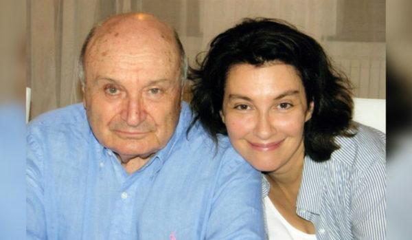 Жванецкий со своей четвертой женой Натальей