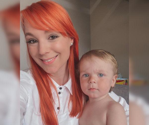 Светлана с сыном Ваней