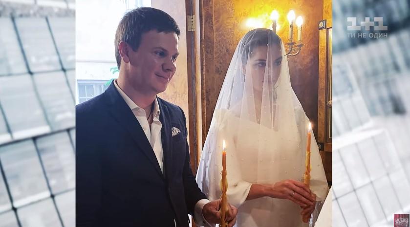 Свадьба Дмитрия Комарова и Александры Кучеренко