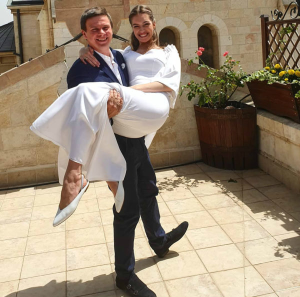 Свадьба Комарова и Кучеренко