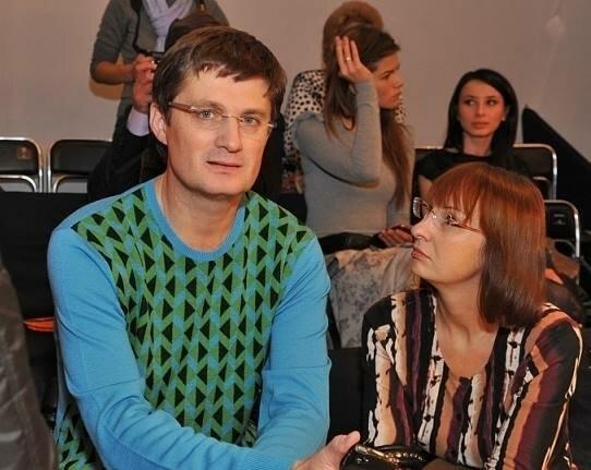 Ігор Кондратюк з дружиною
