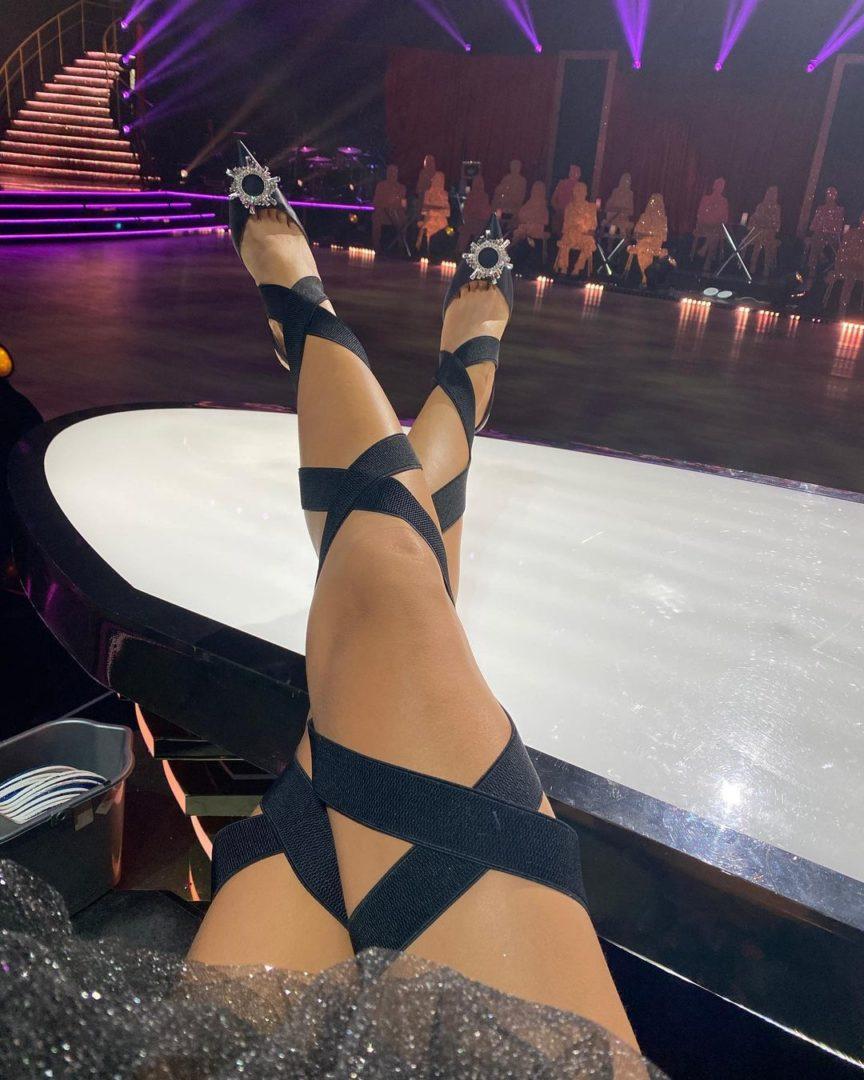 Ноги Леси Никитюк