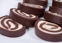 Шоколадний рулет без випічки