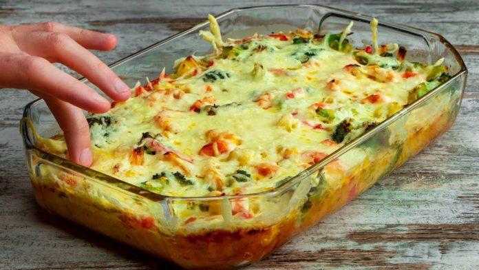 Корисна овочева запіканка за 35 хвилин