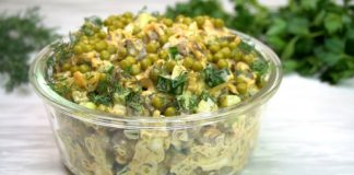 Салат з печінки
