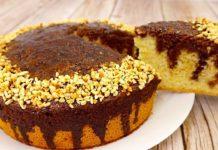Швидкий рецепт пирога з шоколадним просоченням