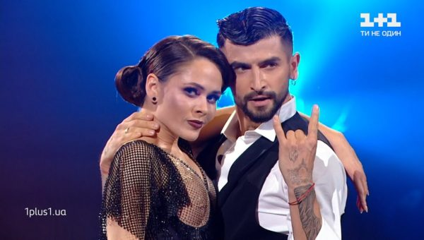 Юлия Санина и Дмитрий Жук в 11 эфире «Танцев»