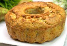 Рецепт кексу з гарбузом і горіхами
