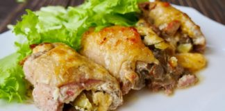 Фаршированные куриные рулетики: рецепты Ольги Матвей