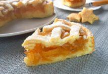 Пісочний пиріг з яблучним варенням