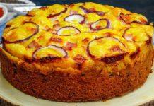Закусочний пиріг з беконом