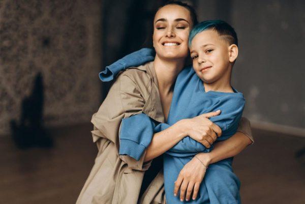Ксенія Мішина з сином