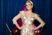 Катя Осадча похвалилася шикарною сукнею