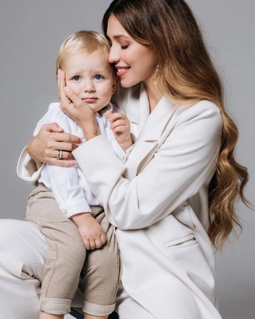 Тодоренко с сыном