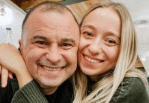 Молода дружина Віктора Павлика показала їх з артистом домашню романтику