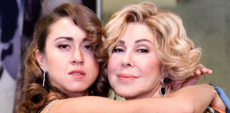 Любов Успенська з дочкою